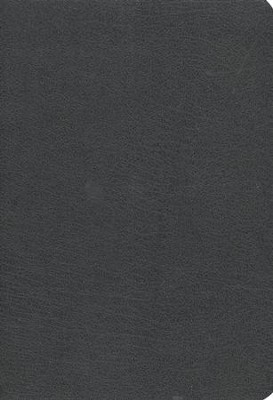 The NKJV Study Bible, Second Edition - Bonded Leather Black - Slightly Imperfect  -