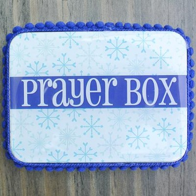 Prayer Box, Snowflakes  -