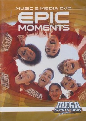 MEGA Sports Camp Epic Moments Music & Media DVD  -     By: My Healthy Church