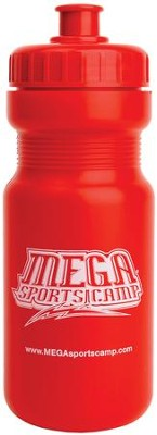 MEGA Sports Camp Water Bottle  -     By: My Healthy Church