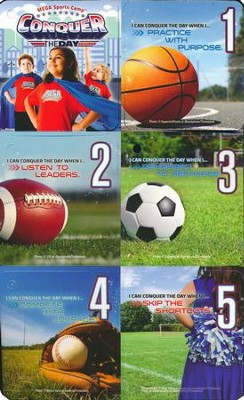 MEGA Sports Camp: Theme Keepers (pkg of 5)  -