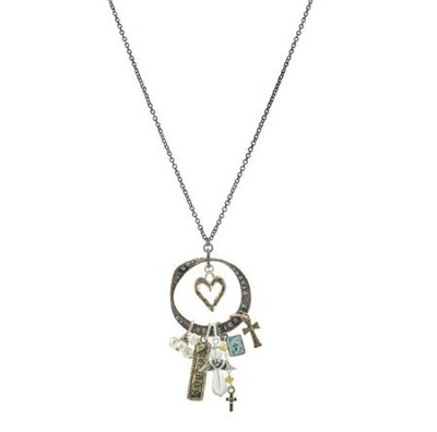 Tritone Serenity Charm Necklace  -