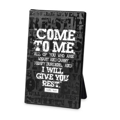 Come to Me Plaque  -