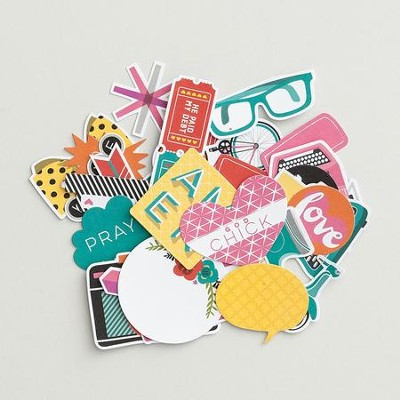 Bright and Brave, Paper Pieces  -