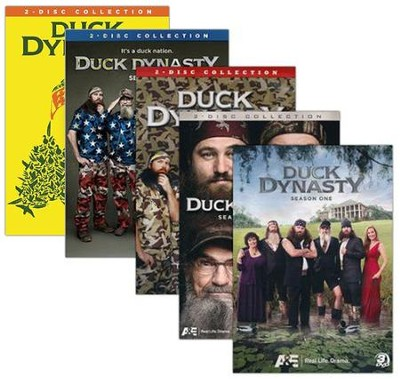 Duck Dynasty, Seasons 1-5 DVDs  -