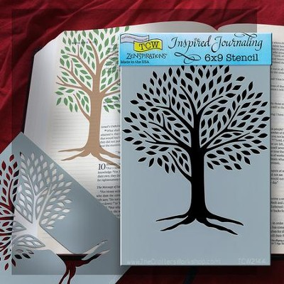 Bible Journaling Stencil, Tree of Life  -
