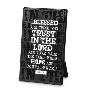 Hope in the Lord--Metal Plaque   -