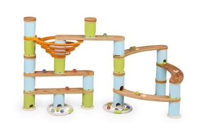 Bamboo Builder Marble Run, 119 Pieces  -