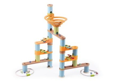 Bamboo Builder Marble Run, 127 Pieces  -