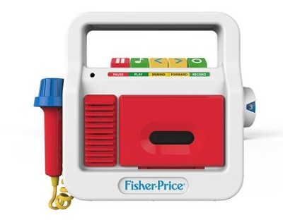 Fisher Price Tape Recorder   -