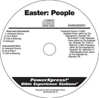 PowerXpress Easter People Music CD  -