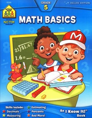 Math, Grade 5 Deluxe Edition, An I Know It! Workbook   -