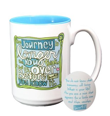 The Journey Is Longer Than You Think Mug  -