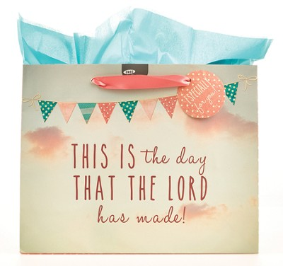 This is the Day, Large Gift Bag  -