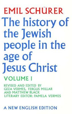 History of the Jewish People, Volume 1   -     By: Emil Schurer