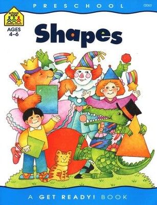 General Learning-Shapes, Preschool Get Ready Workbooks  -