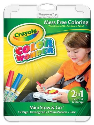 Crayola, Color Wonder Mini Stow and Go  -