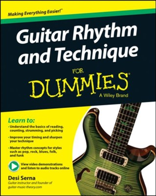 Guitar Rhythm & Technique For Dummies  -