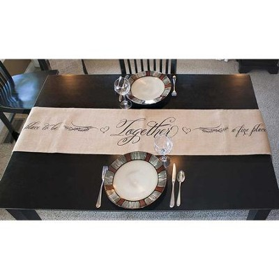 Together, A Fine Place To Be Table Runner  -