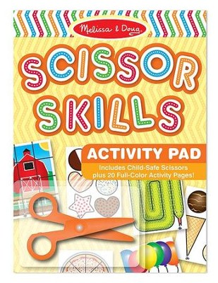 Scissor Skills Activity Pad  -