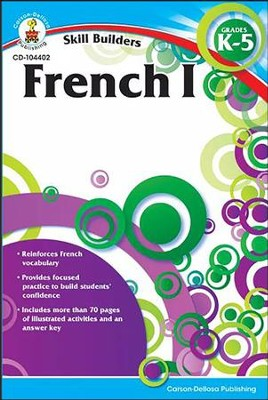 Skill Builders French 1 Grades K-5  -