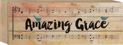 Amazing Grace Tabletop Art  -