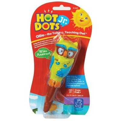 Hot Dots Junior, Ollie, The Talking, Teaching Owl  -