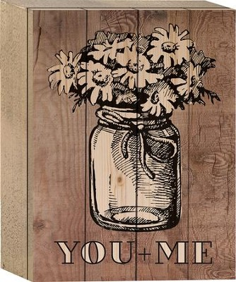 You + Me Tabletop Art  -