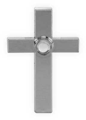 Lord's Prayer, Square Cross. Pocket Token  -