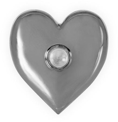 Serenity Prayer, Heart, Pocket Token  -