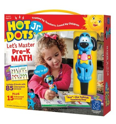 Hot Dots Junior, Let's Master Pre-K Math  -