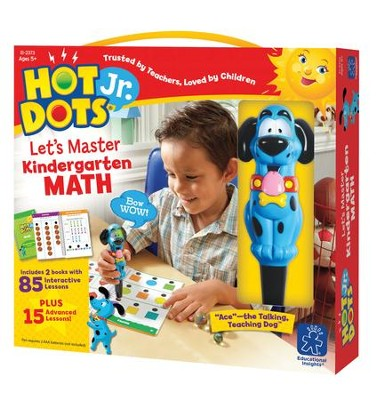 Hot Dots Junior, Let's Master Kindergarten Math  -