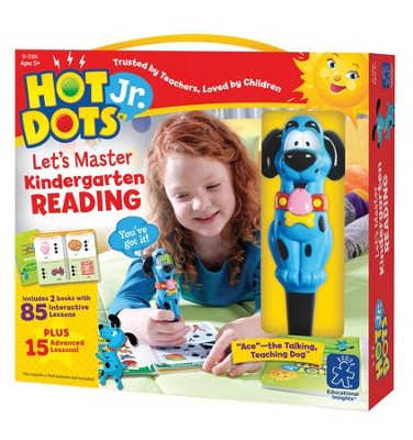 Hot Dots Junior, Let's Master Kindergarten Reading  -