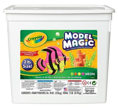Crayola, Model Magic, Neon Color , 2 Lb.  -