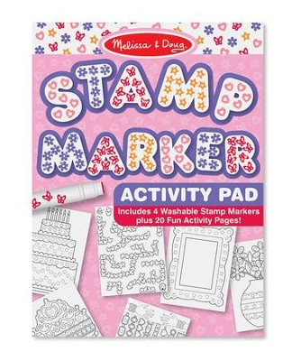 Stamp Marker Activity Pad, Pink  -
