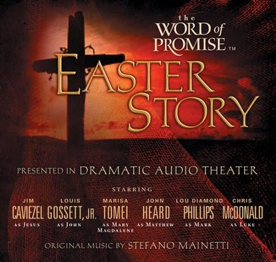 The Word of Promise: Easter Story, NKJV on CD   -