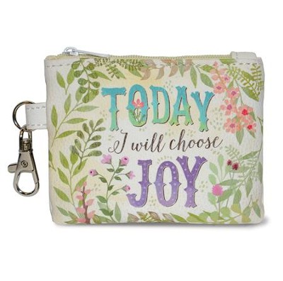 Today I Will Choose Joy Coin Purse  -