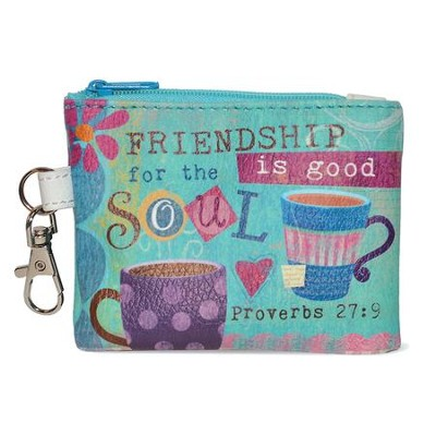 Friendship is Good for the Soul Coin Purse  -