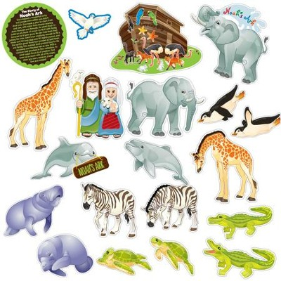 Noah's Ark, Fridge Magnets, 20 Pieces  -