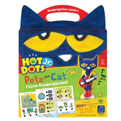 Hot Dots Junior, Pete the Cat, I Love Kindergarten Set  -