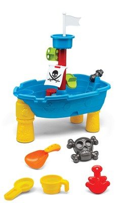 Kidoozie Pirate Ship Sand & Water Pit  -