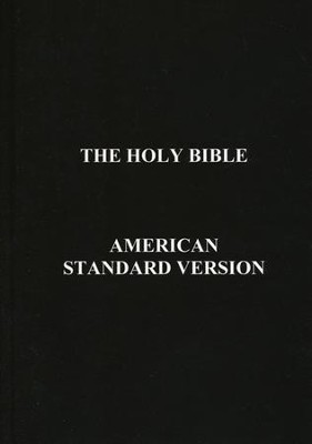 ASV Holy Bible  -