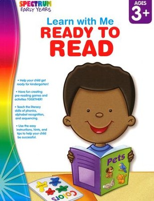 Spectrum Early Years Learn with Me Ready to Read  -