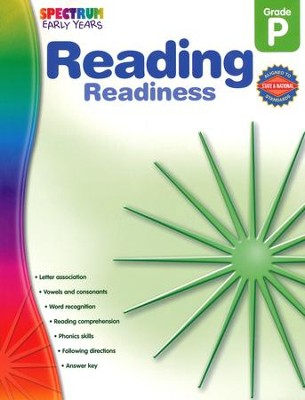 Spectrum Early Years Reading Readiness  -