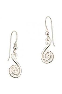 Circle Of Life Earrings, Sterling Silver  -