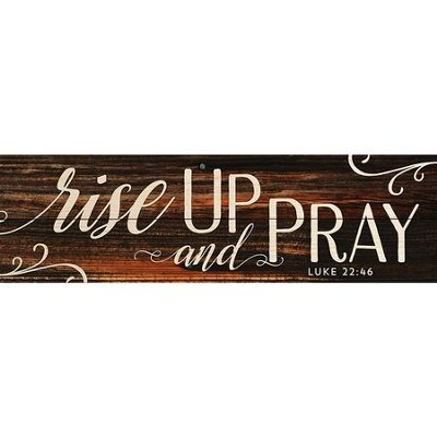 Rise Up and Pray Pallet Art   -