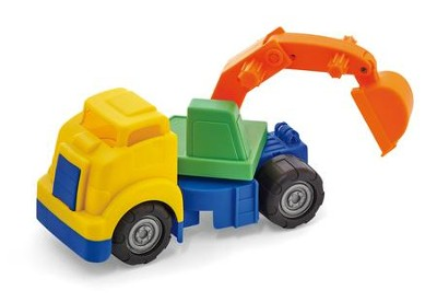Big Tuffies Digger truck  -