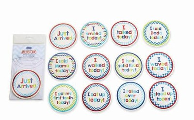 Milestone Stickers, Boy  -
