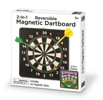 Two Sided Magnetic Dartboard  -