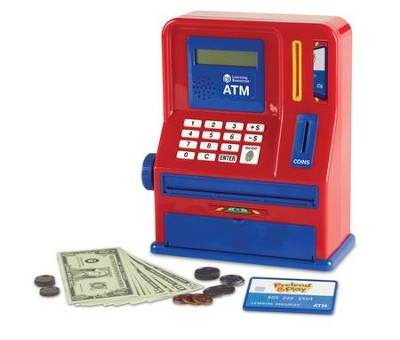 Pretend and Play Teaching ATM Bank  -
